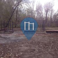 Orenburg - Calisthenics Geräte - Park Pushkinskiy bulvar