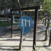 Barra per trazioni all'aperto - Outdoor Fitness Calle  Molliere - Parco Calisthenics