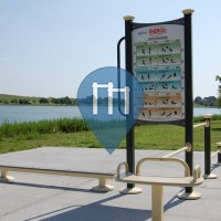 Virginia Beach - Calisthenics Park  - Mount Trashmore Park