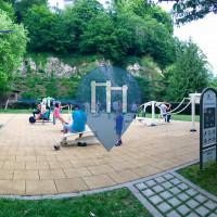 Grund - Outdoor Fitness Park - Vallée de la pétrusse