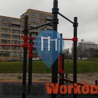 Amsterdam - 徒手健身公园 - Rembrandt Park