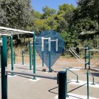 Barra per trazioni all'aperto - Pola - Sea and Road Side Gym