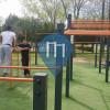 Valencia (Mislata) - Street Workout Park - Parque de la Canaleta