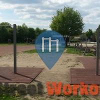 Гамбург - уличных спорт площадка - Kenguru.PRO