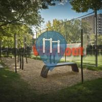 Montreal – 徒手健身公园 – Parc Toussaint-Louverture