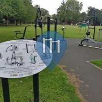Street Workout Anlage - Nottingham - Outdoor Gym Lenton Recreation Ground