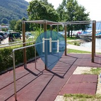 Gmunden - Parque Calistenia - Seebahnhof