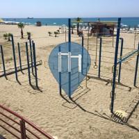 Alanya - Street Workout Park - Beach