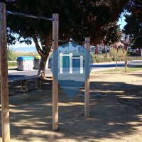 "Salobreña - Outdoor Fitness Park - Circuito deportivo ""Puñao palos"""