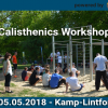 Calisthenics Workshop Kamp Lintfort by Calisthenics Parks powered by Playparc