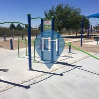 Anthony - Texas - Outdoor FItness Exercise Stations - Henry Miramontez Memorial Park
