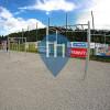 Dolný Kubín - Street Workout Park - Futbalové ihrisko s umelou trávo