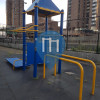New York - Outdoor Fitnessstation - Asser Levy Park