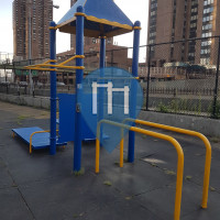 New York - Outdoor Gym - Asser Levy Park