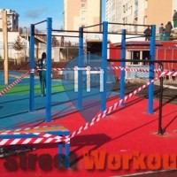 Prague - Street Workout Park/Outdoor Gym - RVL 13 Park Habrová