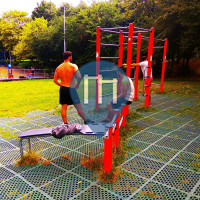 London - Outdoor Exercise Gym - Elthorne Park