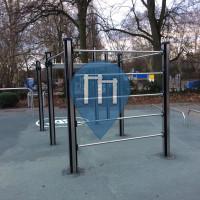 Berlin - Calisthenics Stations - Weissensee Adidas Runner Fitness Parcour