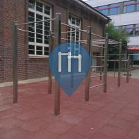 Hamburg - Calisthenics Park -Schule Alter Teichweg