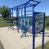 Calisthenics Stations - Cedar Falls - Outdoor Gym DISTek integration park