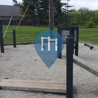 Columbus (Ohio) - Outdoor Fitness Exercise Stations - Scioto River