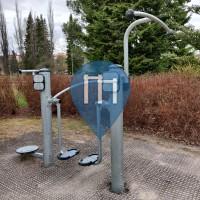 уличных спорт площадка - Лахти - Fellmaninpuisto exercise spot