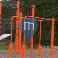 Myślenice - Street Workout Park - Zdrojowa