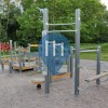 Barras de dominadas al aire libre - Lahti - Outdoor Fitness Erviänpuisto
