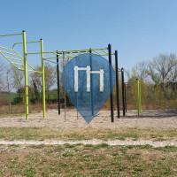 Parque Calistenia - Castel San Pietro Terme - Outdoor Fitness Lungo Sillaro