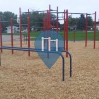 Roseville - Calisthenics Equipment - Wilshire Park Elementary