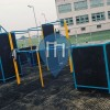 Parc Street Workout - Miasto Zamość - Parkour/streer workout park przy elektryku