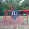 Mexiko City - Outdoor Exercise Gym - Chapultepec