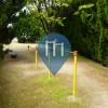 Перекладины под открытым небом - Такацуки - Karasaki Nishi 1 Chome Botan Playpark - 唐崎西一丁目ぼたん児童遊園