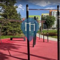Воркаут площадка - Калгари - Trekfit Outdoor Gym Blakiston Park