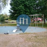 Trollhättan - Parque Calistenia - Mossberget