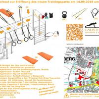 Offizielle Eröffnung des Calisthenicsparks Friedberg