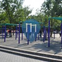 Пеки́н - уличных спорт площадка - Tiantan Park