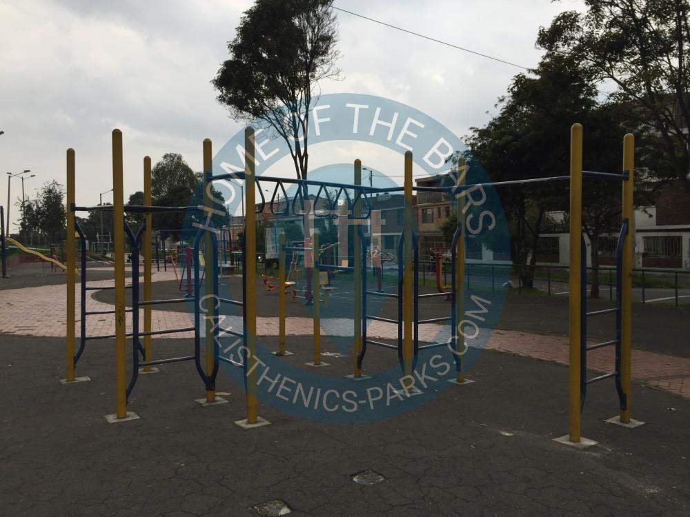 Bogot parque barras parque ciudad jard n colombia for Aviatur cali ciudad jardin