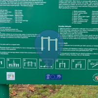 Outdoor Pull Up Bars - Swansea - Exercise Park  Singleton Park