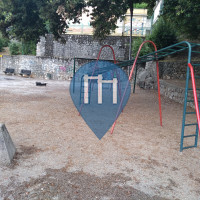 Public Pull Up Bars - Rijeka - Playground Park Nikole Hoste