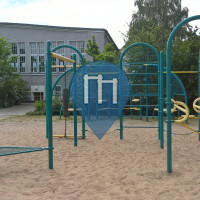 Neubrandenburg - Calisthenics Park - Katharinenviertel