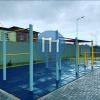 уличных спорт площадка - Серра - Parque da cidade, Serra