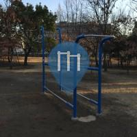 Токио - Воркаут площадка - Tatsuminomori Seaside Park