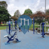Public Pull Up Bars - Bogotá - Outdoor Fitness Garces Navas Park