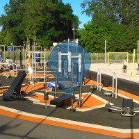 Lund - Gym en plein air - Stadsparken