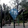 Бангкок - уличных спорт площадка - Benchasiri Park