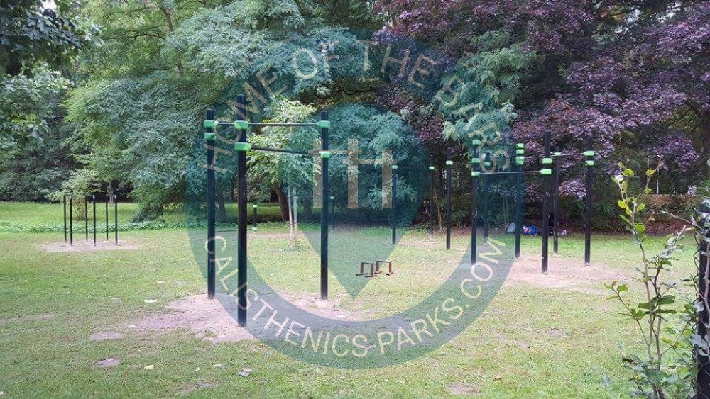 how to find park with calisthenics