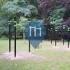 Антверпен -  Воркаут площадка  - Rivierenhof