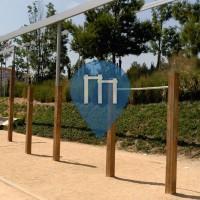 Horta (Barcelona) - Parco Calistenia - Avinguda de l'Estatut de Catalunya