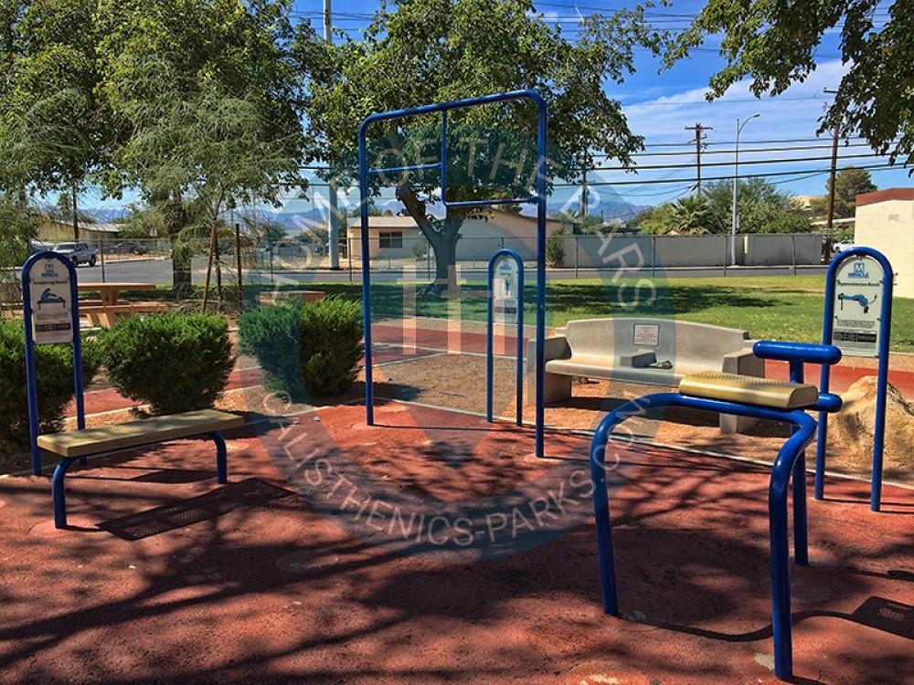 Las Vegas Outdoor Fitness Area Doolittle Park United