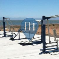 Street Workout Anlage - San Leandro - Outdoor Fitness San Leandro Marina Park